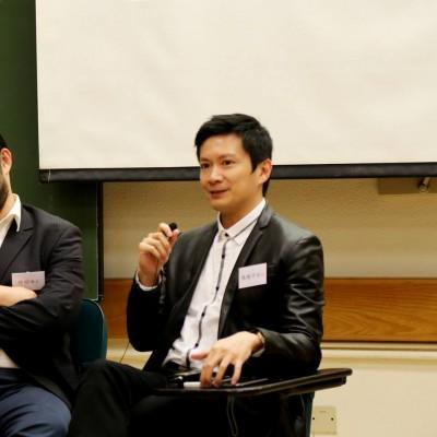 協辦「CEO接班人」2015大學宣講會