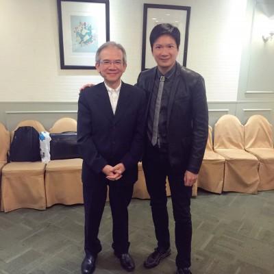 籌辦「智人飯局」之「2017」-- 林煥光先生
