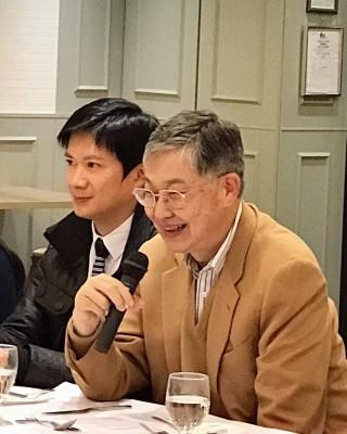 籌辦「智人飯局」之「自組織」 -- 施永青先生