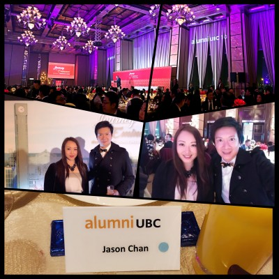 Thanks #WendyLee for invitation to join Alumni UBC Gala Dinner