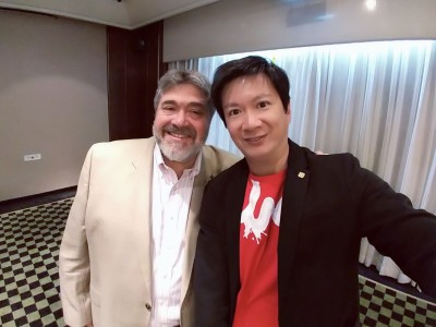 Breakfast meeting with Jonathan Medved OurCrowd CEO